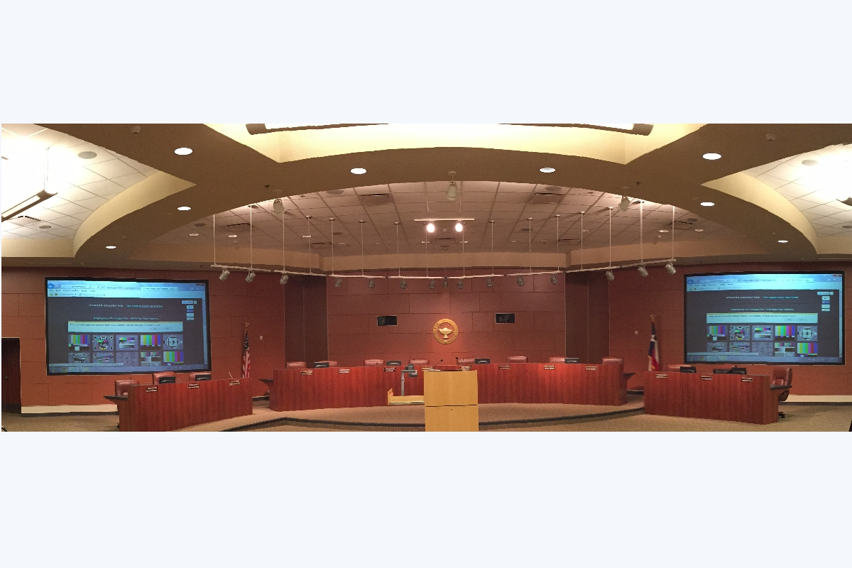 Cities, Independent School Districts, Public Chambers allowing public hearing and telecasting hearings.