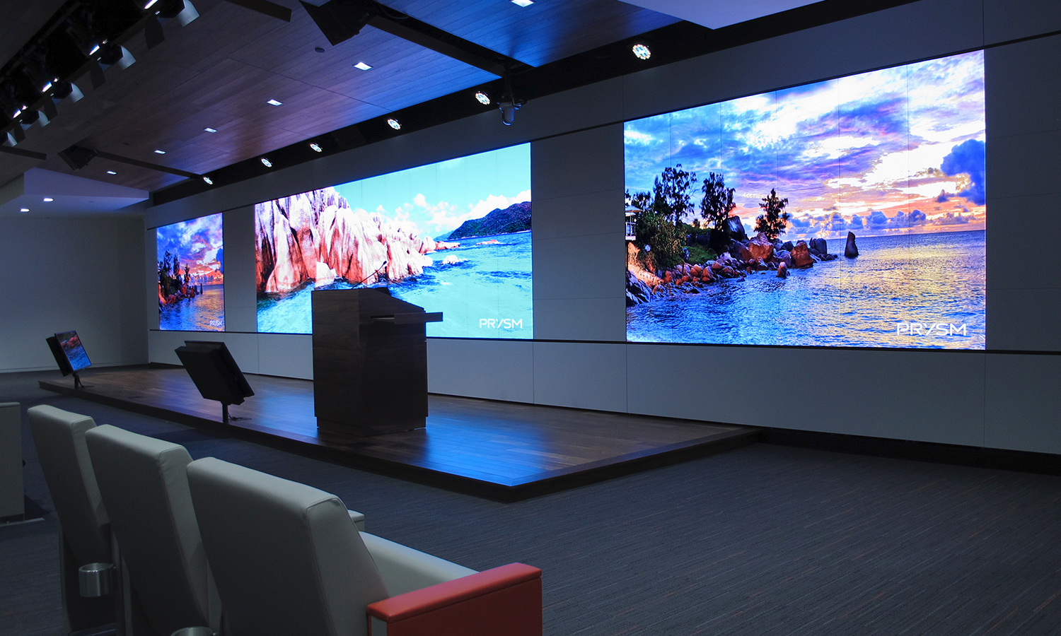 Video walls by Noslar
